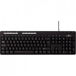 Logitech K400 Plus clavier RF sans fil AZERTY Français Blanc